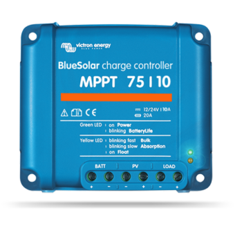 Victron Energy BlueSolar Charge Controller MPPT 75/10