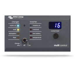 Victron Digital Multi Control 200/200A GX Remote Panel
