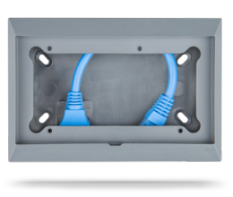 Wall mount enclosure for Victron 65x120mm GX panels