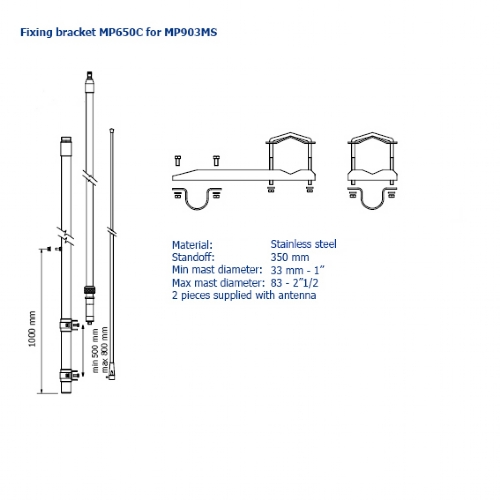 MP903MS -mounting