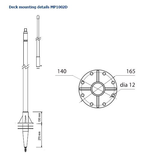 mp1002D mount